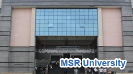MS Ramaiah University Bangalore